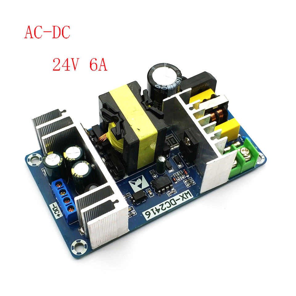 Ac Dc 24v 5a Switching Power Supply Circuit Board Module 5000ma Smps To 100 240v 6a 9a