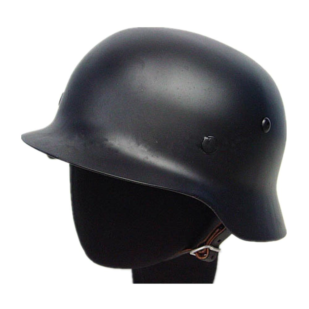 German SWAT Tactical MOD M35 Steel Airsoft Helmet OD Motorcycle Helmet