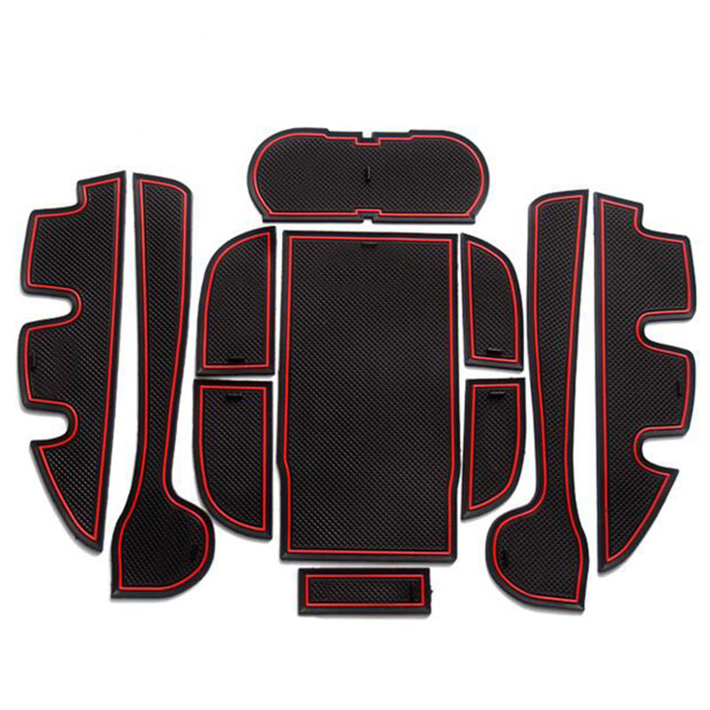 Gate slot pad interior door pad cup for toyota camry - 2013 toyota camry interior parts ...