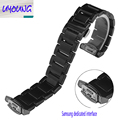 UYOUNG Stainless steel watchband adapter Samsung Gear S2 R720 sports version of the smart watch with 20mm strip