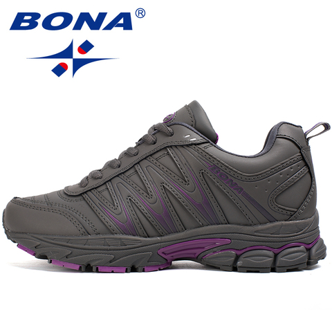 BONA New Hot Style Women Running Shoes Lace Up Sport Shoes Outdoor Jogging Walking Athletic Shoes Comfortable Sneakers For Women Lahore
