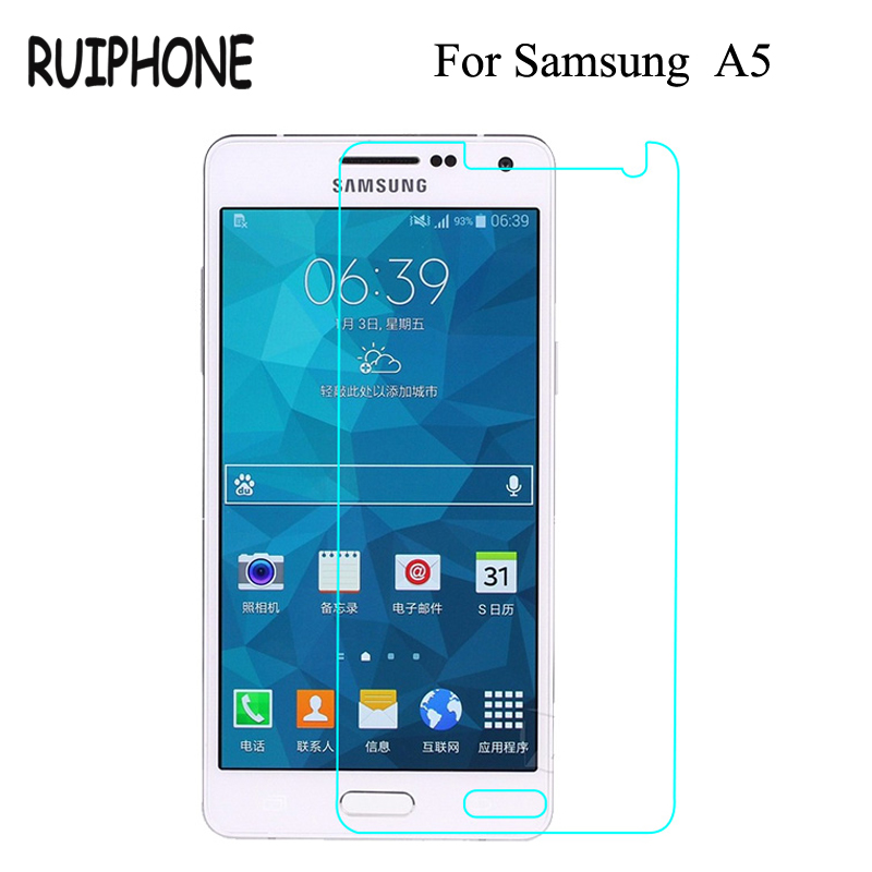 9H Tempered Glass For <font><b>Samsung</b></font> Galaxy J3 J5 J7 A3 A5 A7 2016 2017 2015 J330 <font><b>J530</b></font> J730 0.26mm <font><b>Screen</b></font> <font><b>Protector</b></font> Film Protective image