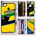 AYRTON SENNA HELMET fashion case cover cover for iphone 4 4s 5 5s SE 5c for 6 & 6 plus 6S & 6S plus 7 7 plus #CD36
