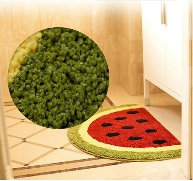 Kitchen Mats Kidu0027s Room Carpets Half Round Bathroom Rugs Non Slip  Water Absorbing Cute