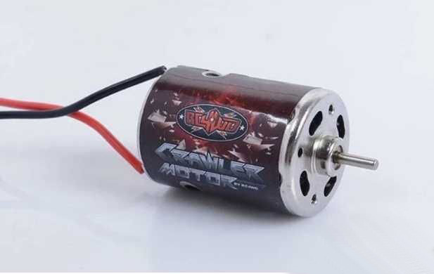 1PCS RC4WD 540 Motor 7.2V High Speed 20T Brushed Motor in 3mm Shaft for RC Rock Crawler Climbing Car Upgrade Parts rc car tamiya 53068 high speed motor op68 23t brushed 540 mabuchi rs 540 motors sport tuned for 1 10 scale models buggy hop ups