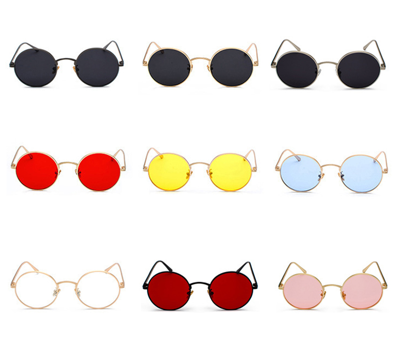 women sunglasses with red lenses detail (2)