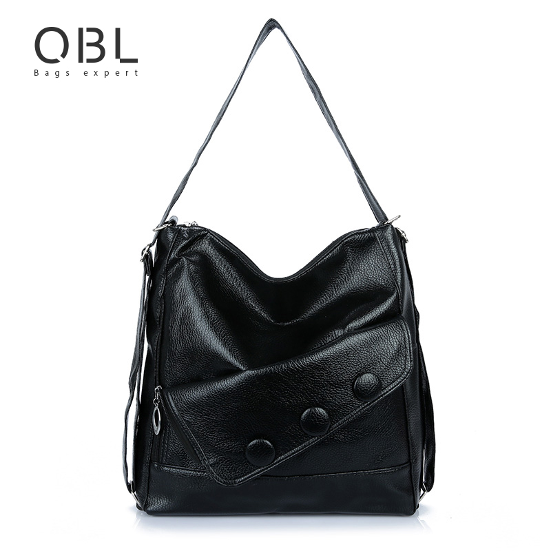 Handbags Women Tote Shoulder Bag Ladies Hand Bags Black Bolsa Feminina Sac a Main Femme Bolsos Mujer Borse Taschen WB18