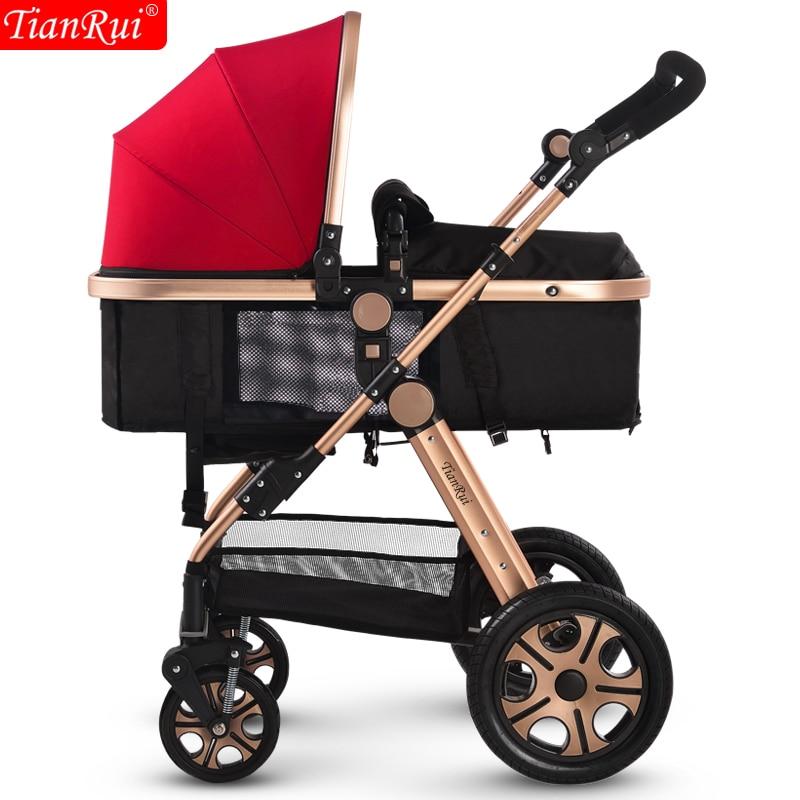 Tianrui baby stroller folding light shock absorbers child four wheel bb baby perambulator baby stroller baby stroller shock absorbers light folding stroller 4runner