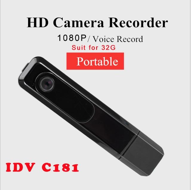IDV Mini Camera C181 Charing Uninterrupted Recording Pen 1080P Full HD Mini DV Sport Camcorder Voice