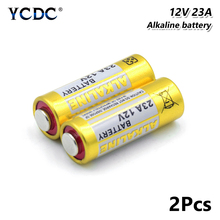 2 предмета в комплекте 12 V 23A 23AE 23GA A23 A23S E23A EL12 3LR50 V23GA MN21 L1028 MS21 RV08 VR22 GP23A 21/23 K23A сухие щелочные батарейки