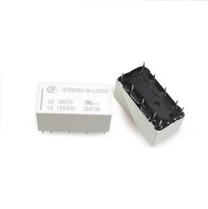 Image 1 - 20pcs/lot Relay HFD2 005 ML2 D HFD2/005 M L2 D Latching Relay Double coil 5V
