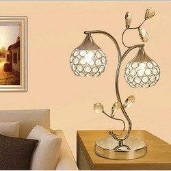 TUDA 30X42 cm darmowa wysyłka Art Decor lampa stołowa w stylu luksusowe K9 kryształ lampa stołowa kreatywny stołowa LED lampa wisząca dla pokoju gościnnego E27|k9 crystal table lamp|crystal table lamptable lamp -