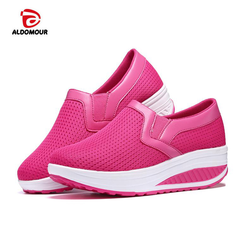 Toning-schuh 2018 4 Farben Frühling Schütteln Toning Schuhe Frauen Plattform Schuhe Mujer Körperformung Fitness Schuhe Schlankheits Swing Schuhe Für Weibliche Sport & Unterhaltung