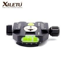 XILETU XPC-60B 카메라 삼각대 고정 어댑터 카메라 삼각대 고정 어댑터 알루미늄 퀵 릴리스 클램프 어댑터 사진 고정 장치
