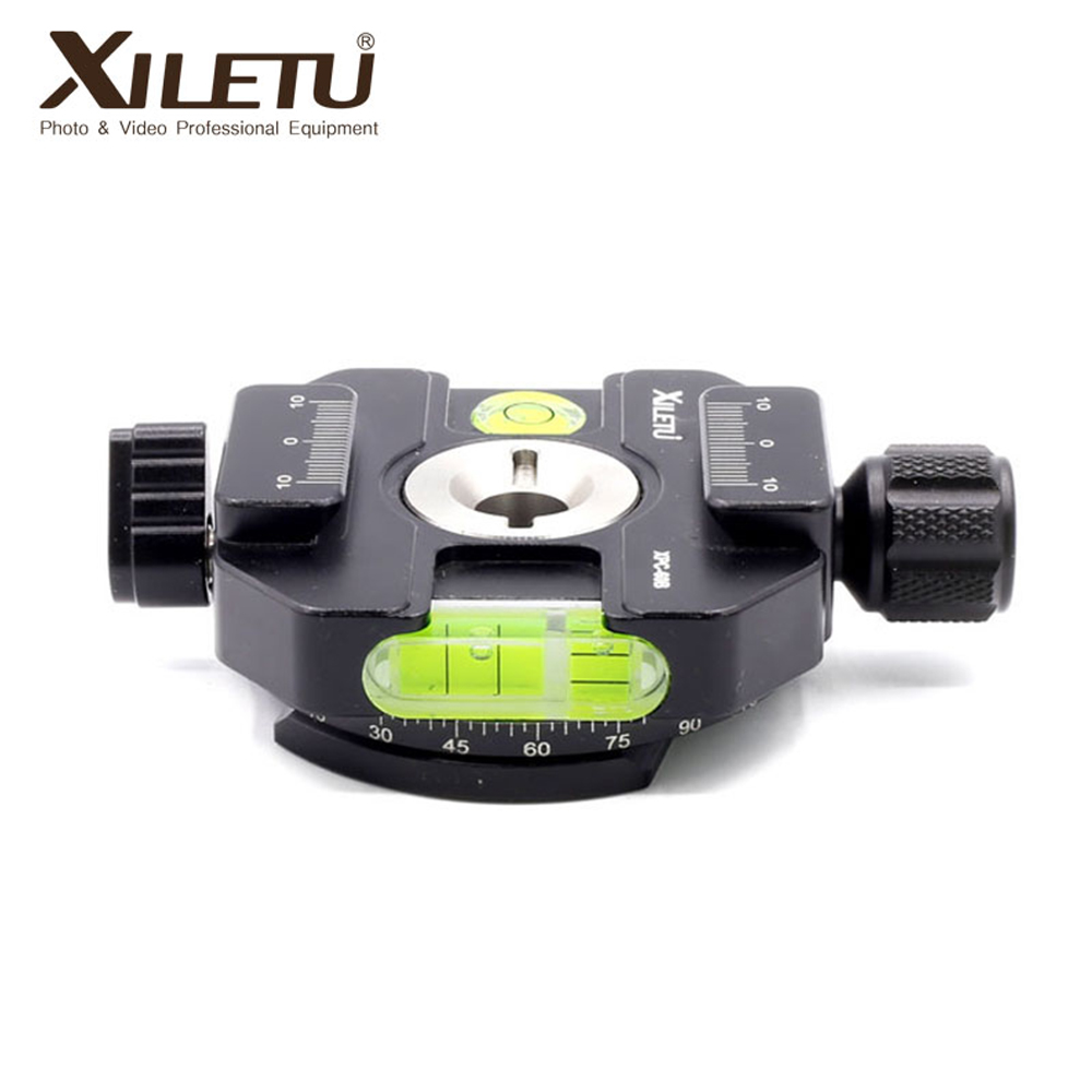 XILETU XPC-60B Camera Tripod Clamp Adapter Camera Tripod Clamp Adapter Aluminum Quick Release Clamp Adapter Photographic fixture