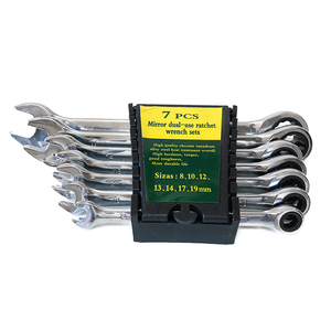 Image 5 - Ratchet combination wrenches set 72 tooth wrenches spanner 8 19mm 7PC