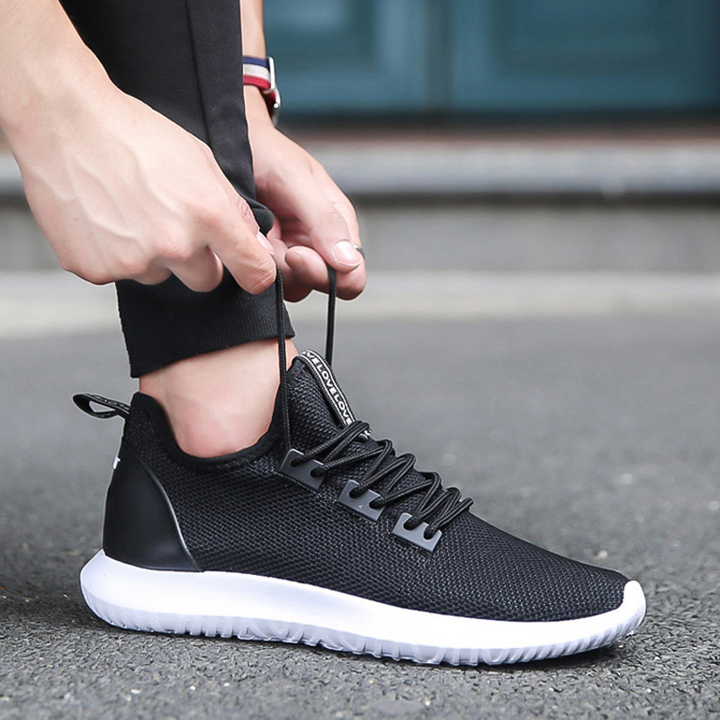 2018 Hot New Men/'s Smart Casual fashion shoes breathable sneakers running shoes