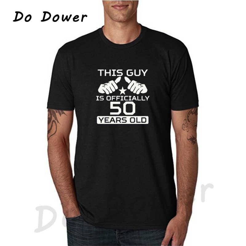 50th Birthday Shirt Bday Gift Ideas Personalized T Age This