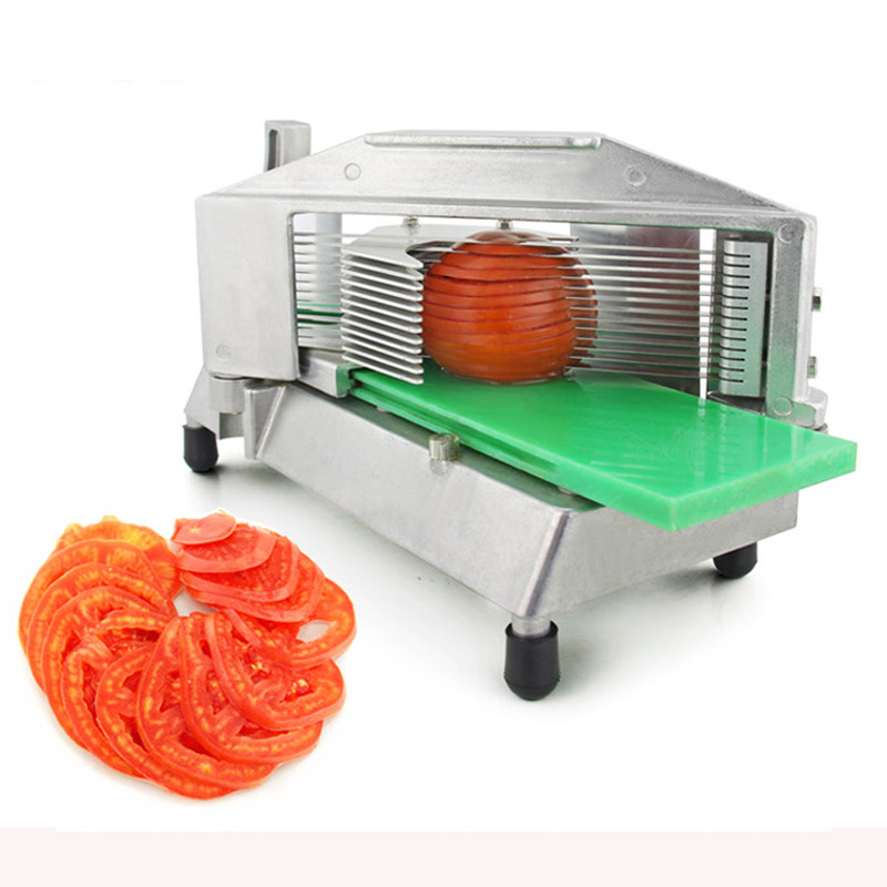 Stainless steel manual slicer tomato Fruit and vegetable food slicer more chopper slicer cutting machine 1pc fast food leisure fast food equipment stainless steel gas fryer 3l spanish churro maker machine