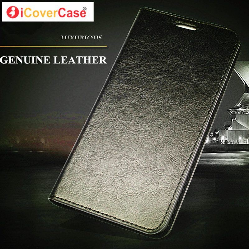Luxury Genuine Leather Phone Case for Microsofts