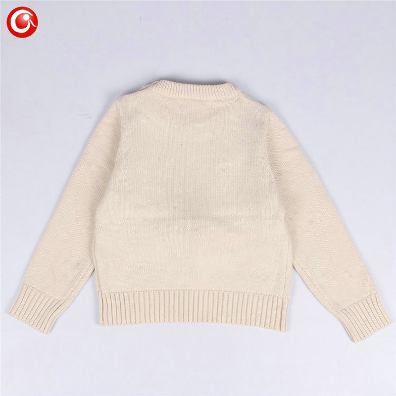 1-5y 2016 AutumnWinter Fashion Toddler Kids Girls Deer Sweater Long Sleeve Crochet Knitted Top For Christmas Kids Boys Cardigan (5)