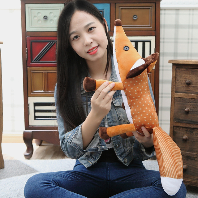 45cm The Little Prince Fox Plush Dolls  le Petit Prince stuffed animal plush education toys for baby kids Birthday/Xmas Gift