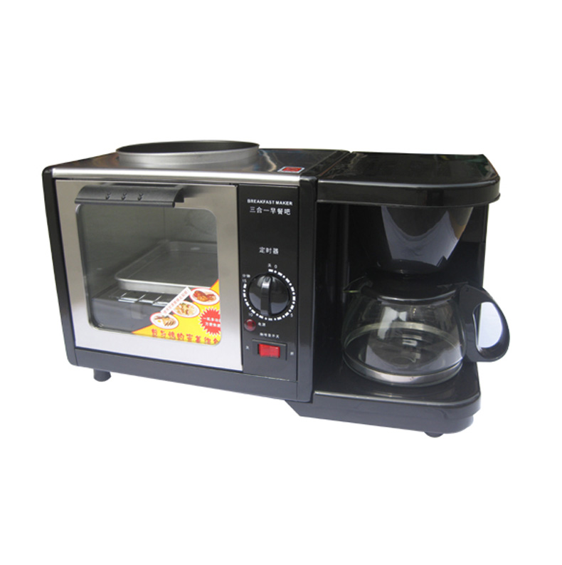 Multi Function 3 In 1 Breakfast Maker Mini Household Oven