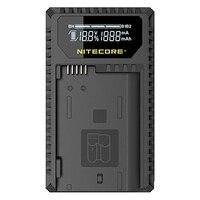 شاحن USB رقمي من Nitecore UNK1 لبطاريات نيكون EN-EL14 ، EN-EL14a ، EN-EL15-متوافق مع نيكون D7000 D3100 D750