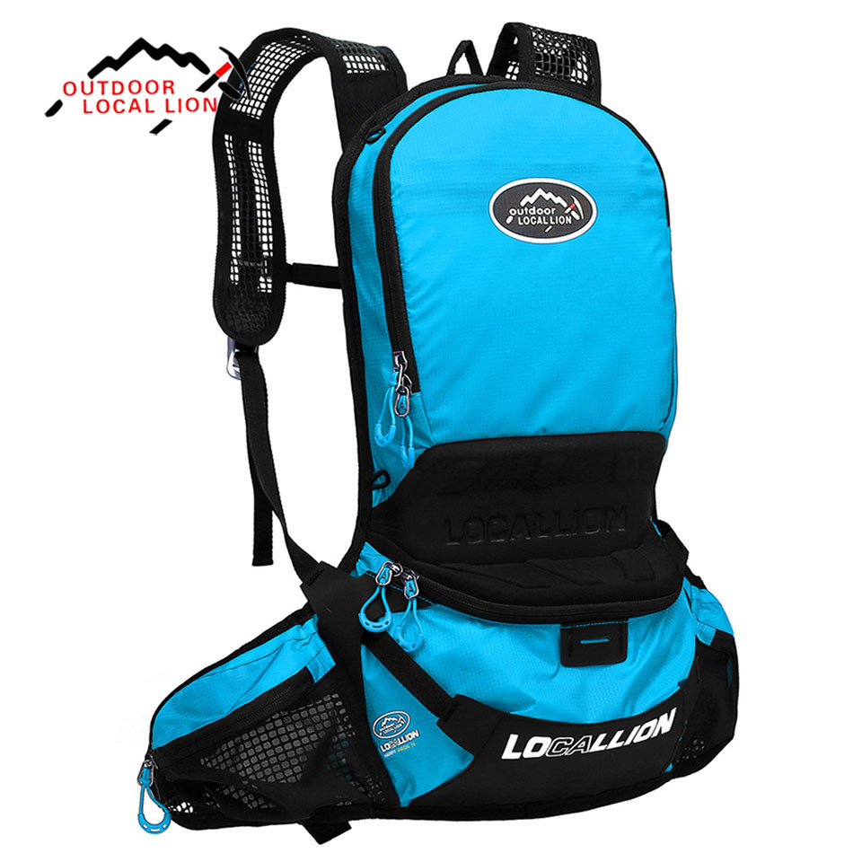 LOCAL LION 25L Waterproof Breathable Bicycle Cycling Backpack Bike Rucksacks Riding Running Hiking Outdoor Backpack Ride Pack outdoor professional cycling backpack riding rucksacks bicycle road bag bike knapsack sport camping hiking backpack 25l x185