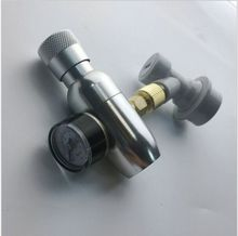 """homebrew kegging,Premium Regulated CO2 Charger with ball lock fitting,mini CO2 Regulator,3/8"""" thread co2 thread"""