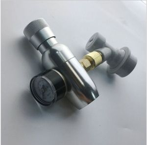 """Image 1 - homebrew kegging,Premium Regulated CO2 Charger with ball lock fitting,mini CO2 Regulator,3/8"""" thread co2 thread"""