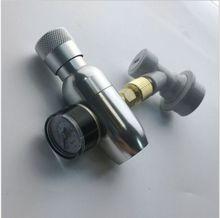 """自作kegging、プレミアム安定化CO2充電器ボールロックフィッティング、ミニCO2レギュレータ、3/8 """"スレッドco2糸"""
