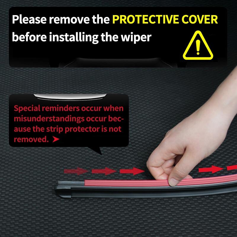 Kaca Depan Dan Belakang Wiper OGE Untuk Hyundai Solaris 2011 2012 - Suku cadang mobil - Foto 6