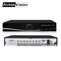 LS A16 High quality ful h .264 16ch cctv dvr HD Digital Video Recorder 1080N AHD DVR TVI CVI hybrid dvr with onvif P2P cloud