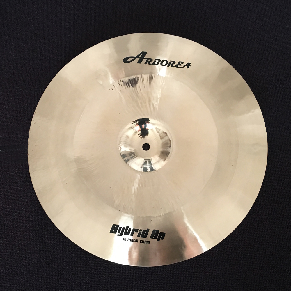 ARBOREA Cymbal Hybrid AP 16 China From Cymbal Factory arborea supplier offer hybrid ap 16 medium crash