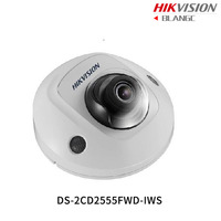 Hikvision English H 265 5MP Wifi Camera DS 2CD2555FWD IWS Replace DS 2CD2542FWD IWS Mini Dome