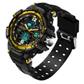 Hot!Multifunctional Men Sport Waterproof LCD Digital Analog Quartz Wrist Watch