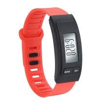 Модные новые силиконовой лентой цифровой часы Открытый Спорт Повседневное светодиодный часы водонепроницаемые наручные часы для детей