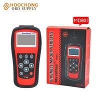 Autel kod skaner MD801 MaxiDiag Pro MD801 z 4 w 1 (JP701 + EU702 + US703 + FR704) Auto Code Reader