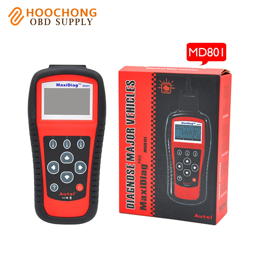 Aliexpress com buy autel maxidiag pro md801 with 4 in 1 code scanner md801 jp701 eu702 us703 fr704 auto code reader from reliable autel maxidiag