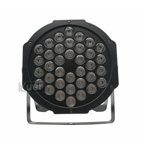 Image 3 - Yeni LED düz Par 36x3W kırmızı yeşil mavi renk aydınlatma DMX512 disko DJ KTV projektör makinesi parti sahne dekorasyon lambası