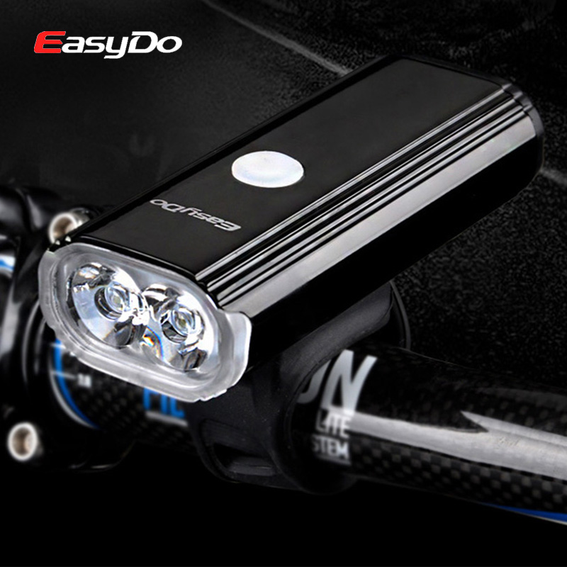 EasyDo 1000LM Cycling Headlight Bicycle Head Lamp 4400mA USB Rechargeable MTB Bike Front Light LED Flashlight For Road Cycle