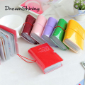 DreamShining  Fashion Men & Women Credit Card Holder/Case card holder Wallet Candy Color Business Cards Bag ID Holders