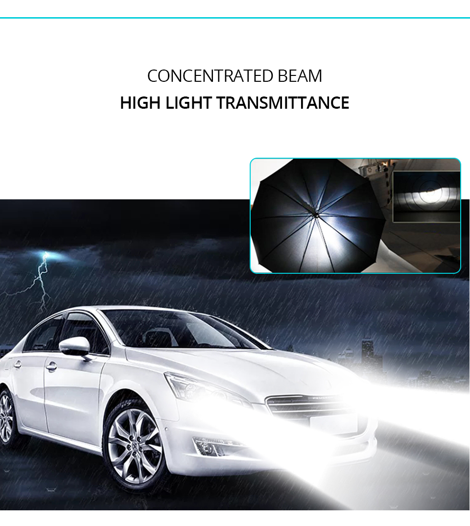 2PCS Mini H4 H7 LED Car Headlight Kit 50W 10000LMSet H1 H11 9005 HB3 9006 HB4 H8 6000K 4300K 8000K 3000K Bulbs Car Accessories (8)