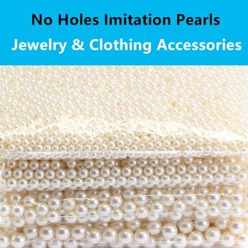 100 Uds DIY accesorios de ropa gorro de perlas tubulares remaches de cuero reparación artesanal perla encaje de punto sombrero accesorios de pelo remaches
