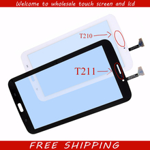 "New 7"" For Samsung Galaxy Tab 3 7.0 SM-T210 SM-T211 T210 T211 Touch Screen Digitizer Glass Panel Sensor Tablet PC Replacement"