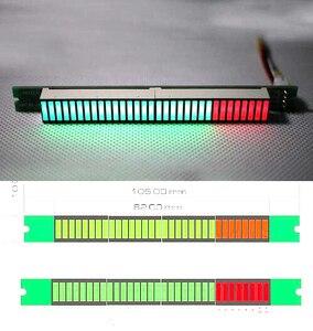 Моно 32 уровня VU метр Индикатор ритм стерео усилитель мощности плата Sepctrum Регулируемый громкость светодиодный светильник плата скорости
