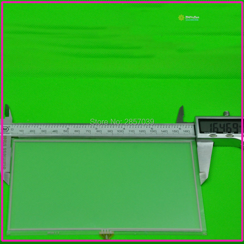 XWT209 7 inch 4 lins Layar Sentuh Untuk GPS MOBIL 165mm * 100mm touchsensor 165 * 100 touchglass digitizer