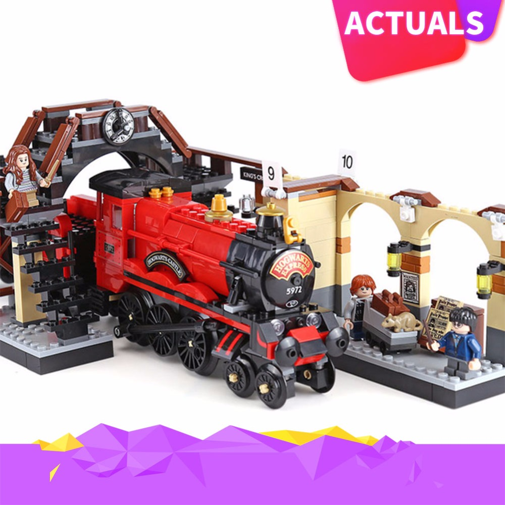 Lepin 16055 Harry Toys Potter Compatible with Legoing 75955 Hogwarts Express Set Building Blocks Bricks Kids Toys Christmas Gift