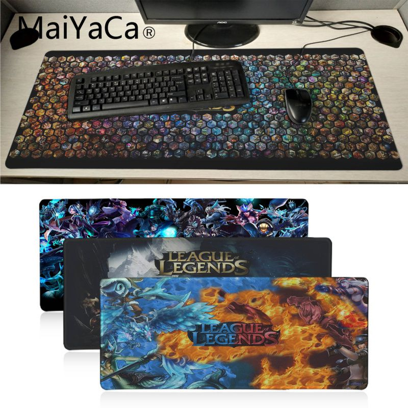 Maiyaca Lol Game Gamer Play Mats Mousepad Anime Cartoon Print Large Size Game Mouse Pad Gamer Mousepad Big Gaming Mouse Pads An Enriches And Nutrient For The Liver And Kidney Computer & Office Mouse Pads